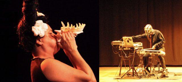 """""""Experimental, estimat Watson"""".   José Mª Pastor Sánchez & Inma Bernils Improvisació lliure i paisatge sonor.  Diumenge 11 de març a les 12 h."""