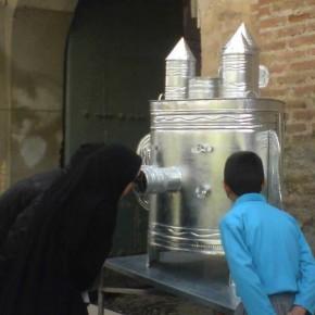 Taller de Shahr E Farang, construcció d'un teatret tradicional persa 10-11 de gener