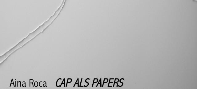 Cap Als Papers >>>>>  Aina Roca amb la col·laboració d'Olga Solà. Instal·lació