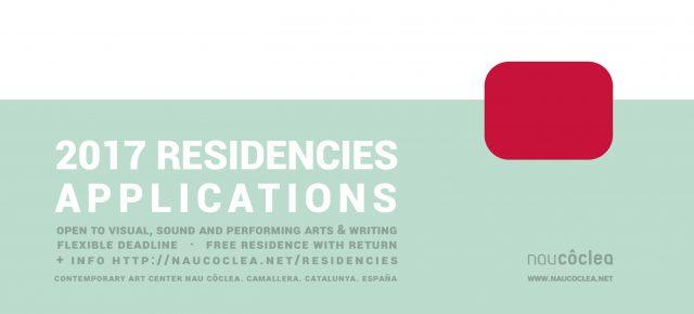 Residencies 2017