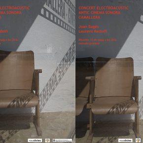 12 de maig 20h. Concert Electroacústic al Cinema Sonora de Camallera