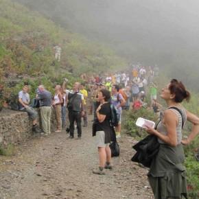Marc Egea i Clara Gari guiaran la ruta Walter Benjamim el 29 de setembre, de Banyuls a Portbou