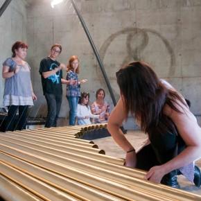 Arpasauro, de Toko Okuda. instal·lació sonora. Inauguració 13 d'abril a les 12