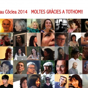 Memòria Nau Côclea'14 gràcies artistes, gràcies a tothom! Us podeu descarregar la memòria aquí