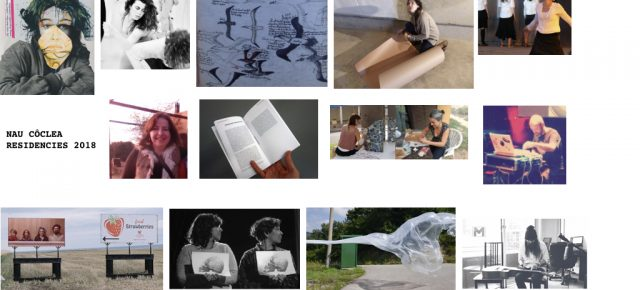 Residències/Residencias 2018   Wellcome selected artists . No more dates available for 2018