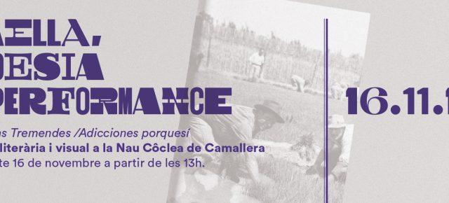 Edicions Tremendes i Adicciones porquesí es presenten amb els seus autors. Paella literària i visual el 16 de novembre a partir de les 13h.