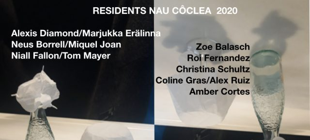 Residents a Nau Côclea 2020. Wellcome!