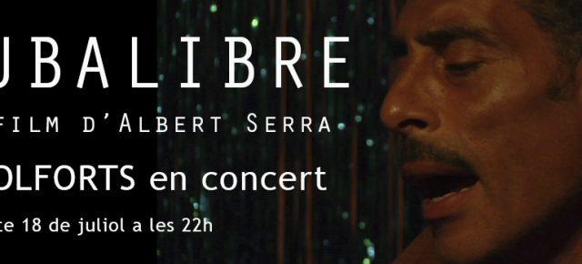 CUBALIBRE un film d'Albert Serra & Molforts en concert. dissabte 18 juliol a les 22h. Presenta Albert Serra