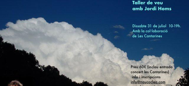 El So al Cos Intensiu de Veu. Dissabte 31 d'agost de 10 a 19 h. Jordi Homs amb la col·laboració de Les Cantarines. +info info@naucoclea.com